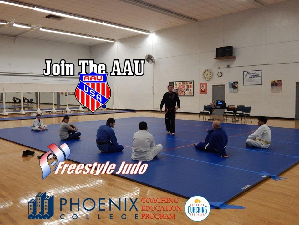 AAU Freestyle Judo Coach Education Program