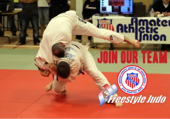 Coach Decker Join Our Team AAU Martial Arts Freestyle Judo 10.17.17